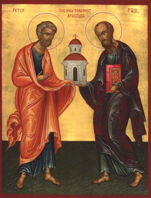 The parish of Saints Peter and Paul invites you to attend